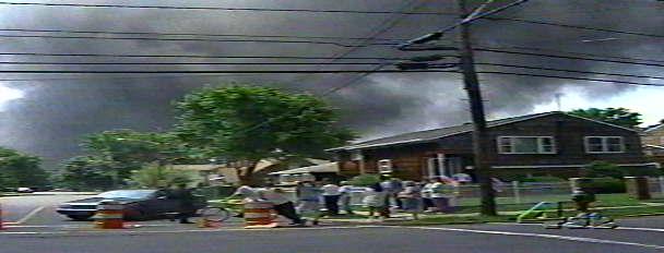 Sewaren Shell Oil Company Tank Fire June 11 1996